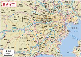 日本 県別日本地図 : 県別地図・角版−関東地方 ...